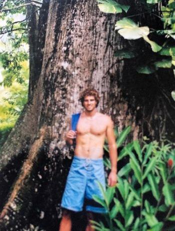 Scott McGillivray young backpacker in costa rica