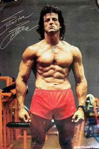 beefy muscle hunks - vintage - stallone