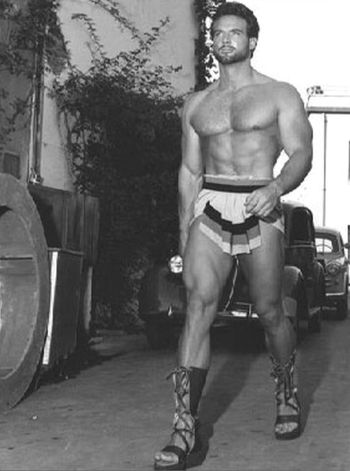 beefy muscle men of hollywood steve reeves hercules