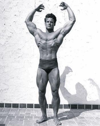 beefy muscle men - steve reeves