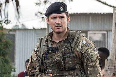 ben aldridge hot men in uniform - our girl bbc