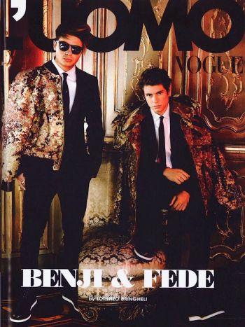 benji and fede vogue magazine