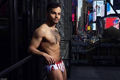 chris medlin underwear - aussiebum - broadway bares