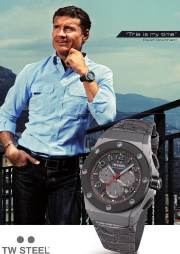 david coulthard tw steel watch