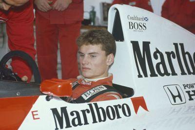 david coulthard young formula 1 driver