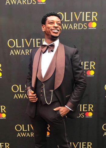 dex lee actor red carpet olivier awards