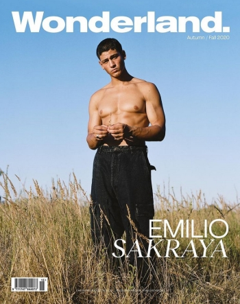 emilio sakraya shirtless - tribes of europa