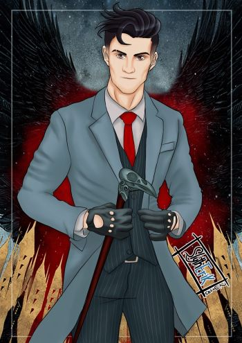 freddy carter kaz brekker - fan art by slytherik