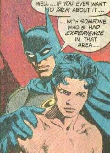gay batman in comics