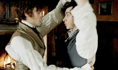 harry lloyd douglas booth gay dancing in great expectations2