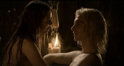 harry lloyd shirtless games of thrones