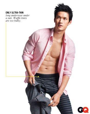 harry shum underwear gq magazine