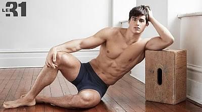 hot male teachers - pietro boselli shirtless abs