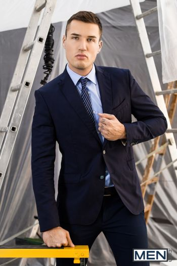 hot men in suit - theo ford model actor