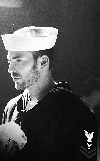 hot sailors in movies - chris evans in playing it cool