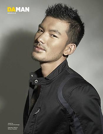 indonesian hunks male models Rio Dewanto