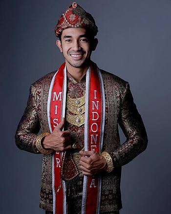 indonesian male model - mr indonesia Okka Pratama