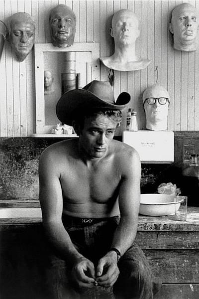 james dean cowboy shirtless photo