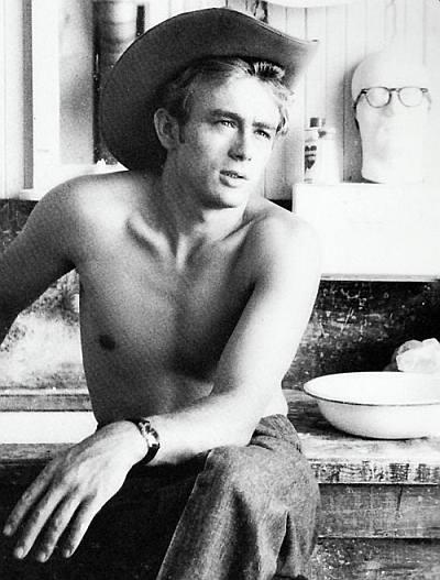 james dean shirtless - vintage hollywood hunks