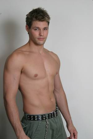 justin bruening hot young body