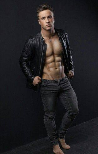 male celebrity low rise jeans - sam callahan english singer