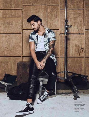 maluma coach leather pants - esquire latin america