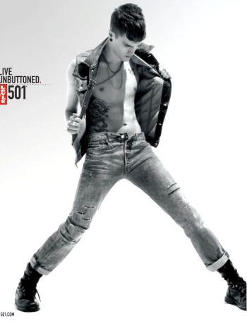 mens jeans unzipped - levis unbuttoned 501