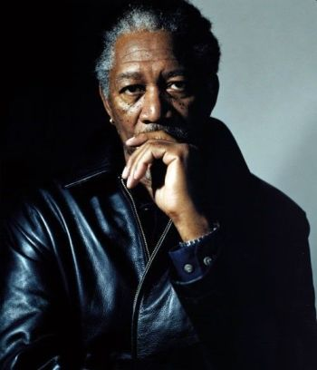 older men leather jacket - morgan freeman