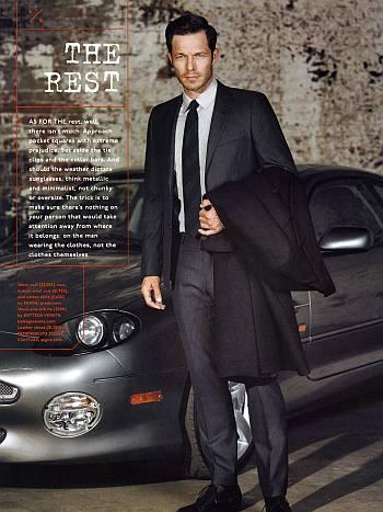 paul sculfor hot male model in suit