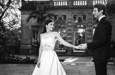 sam brock wedding with gabriela dellan