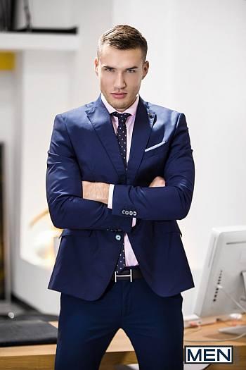 smoking hot men in suit - irish actor theo ford
