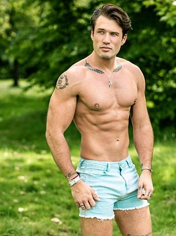 theo ford hot men in shorts