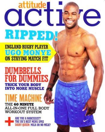 ugo monye hot body - attitude magazine