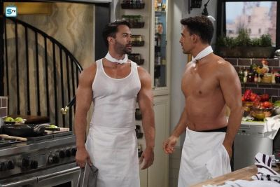 victor turpin muscled chef in will and grace