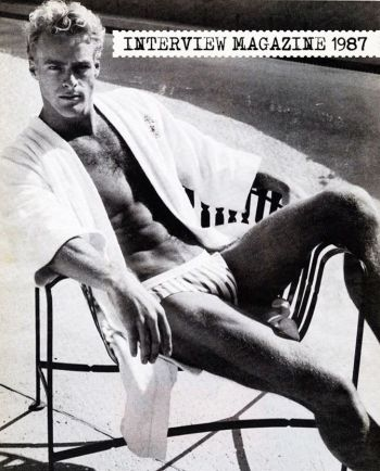 vintage speedo guys - steve lyon interview magazine
