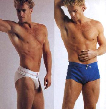 vintage speedo men - steven lyon for undergear