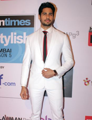 white suits for men - Sidharth Malhotra