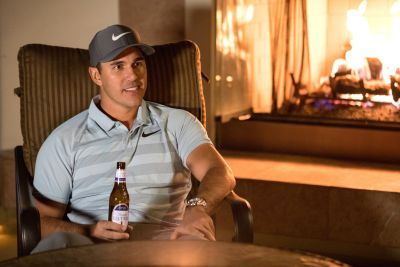 Brooks Koepka michelob ultra beer sponsor