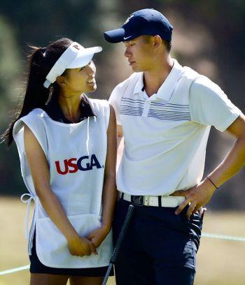 Collin Morikawa girlfriend Katherine Zhuu