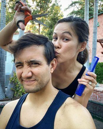 Gadi Schwartz and wife kim tobin gadinbc instagram