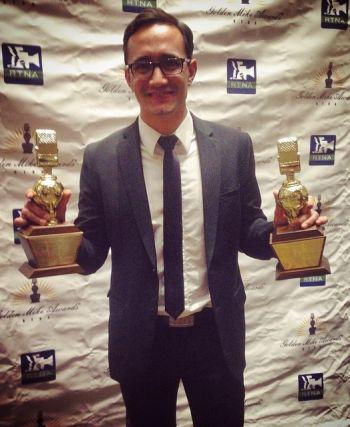 Gadi Schwartz golden mike rtna awards