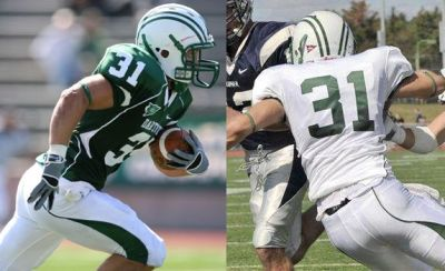 JB Andreassi football cornerback dartmouth big greens