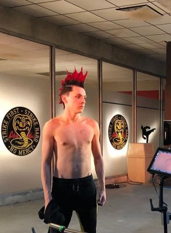 Jacob Bertrand body - hawk - cobra kai