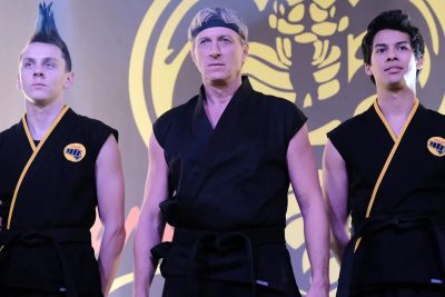 Jacob Bertrand cobra kai william zabka and zolo