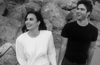 Max Ehrich girlfriend fiancee demi lovato