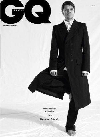 Mehmet Günsür hot male model gq magazine