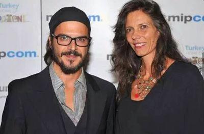 Mehmet Gunsur wife katerina mongio - italian director