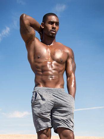 Vaughn Hebron shirtless hot body