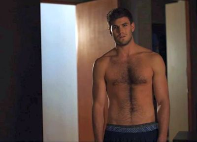 austin stowell shirtless hairy chest