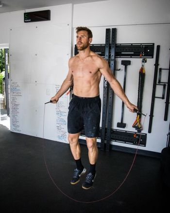 brooks laich workout body